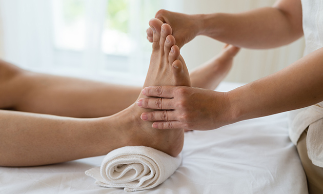Luxe voetreflexbehandeling (60 min)