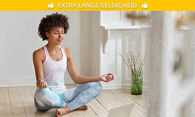 Online beginnerscursus yoga