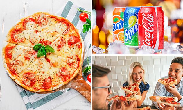 Afhalen: pizza naar keuze + drankje bij Mahmoodz