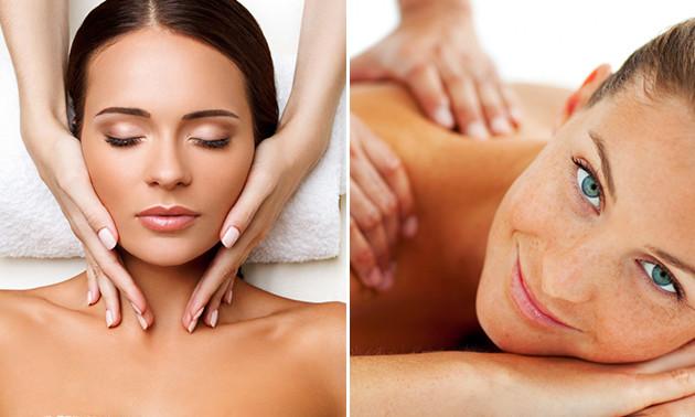 Massage naar keuze of gelaatsbehandeling (60 min)