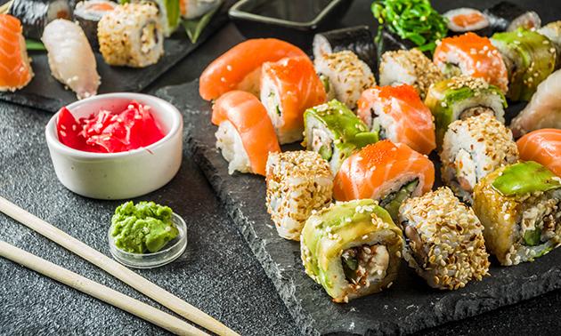 Afhalen: 2-gangen sushidiner bij Mantra Sushi