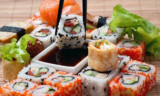 2-gangen sushidiner voor 2 bij Mantra Sushi