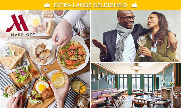 Luxe brunch + cava bij Marriott in hartje Gent