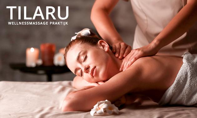 Massage naar keuze (30, 60, 90 of 120 min)