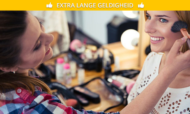 Workshop make-up (3 uur) voor 1 tot 3 personen