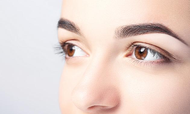Powder brows + evt. nabehandeling