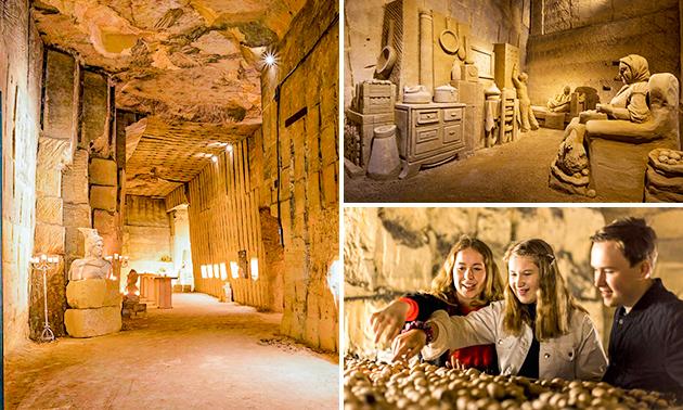 Visite Grottes de marne + atelier de marne + évtl. lunch