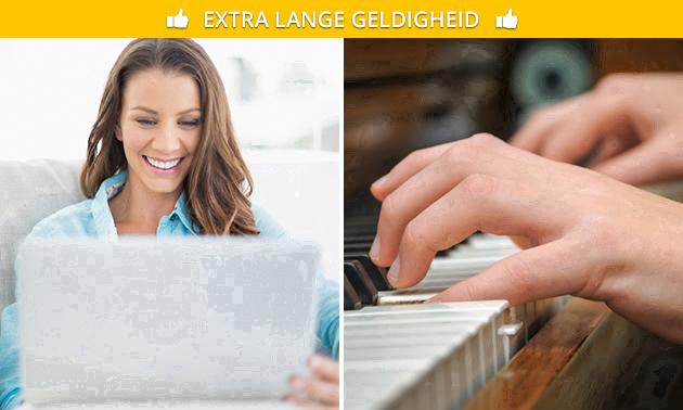 Online pianolessen