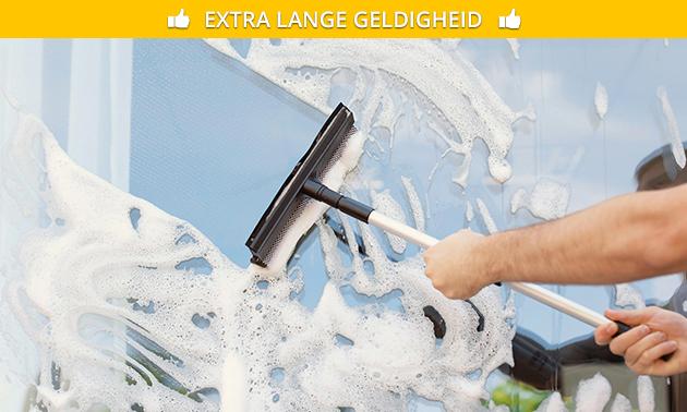 Waardebon voor ramen wassen