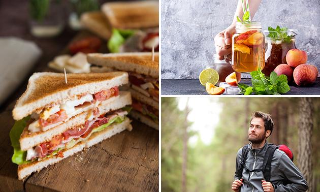 Wandelarrangement + take-away lunch van Mickers 2.0