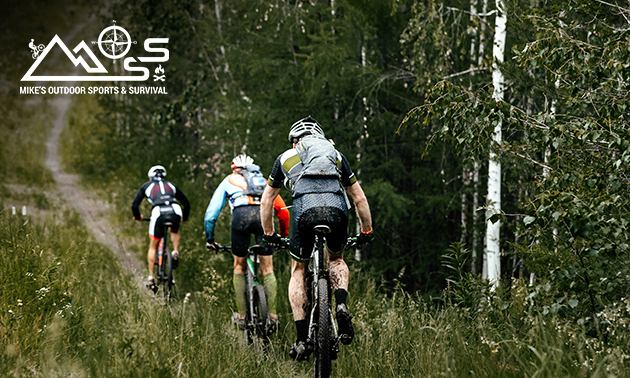 Complete mountainbike-tocht (3 uur)