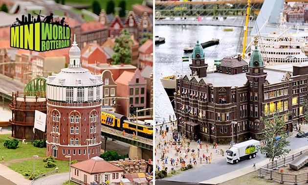 Entree Miniworld Rotterdam + drankje