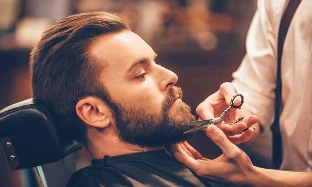 Kappersbehandeling voor mannen