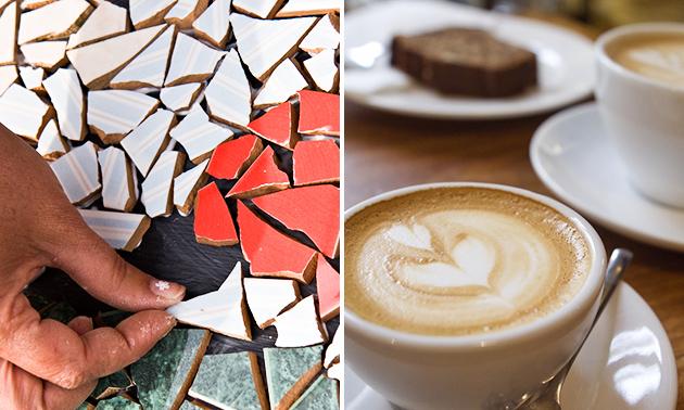 Workshop mozaïeken + koffie/thee + koekjes (3 uur)