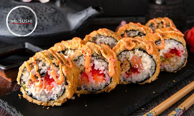 Afhalen: crispybox (20 stuks sushi) bij Mr. Sushi Uden