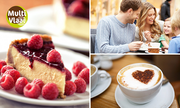 Koffie + vlaai in hartje Veenendaal