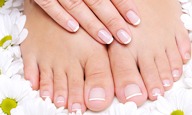 Spa-manicure- of pedicurebehandeling (45 min)
