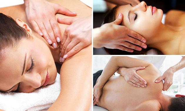 Massage naar keuze (50 of 60 min)