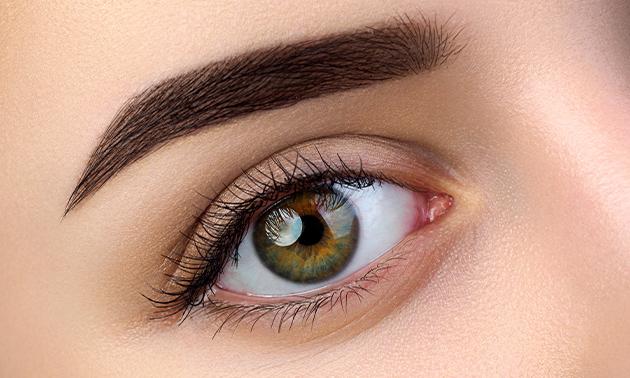 Permanente make-up (powder brows of microblading)