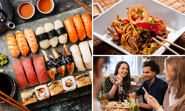 All-You-Can-Eat & Drink (3 uur) bij Naida World Kitchen