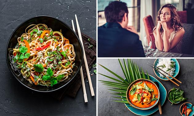 3-gangendiner à la carte bij Namsaeng Thai Cuisine