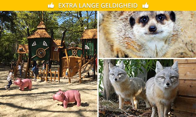 Entrée au parc naturel et animalier de Brüggen