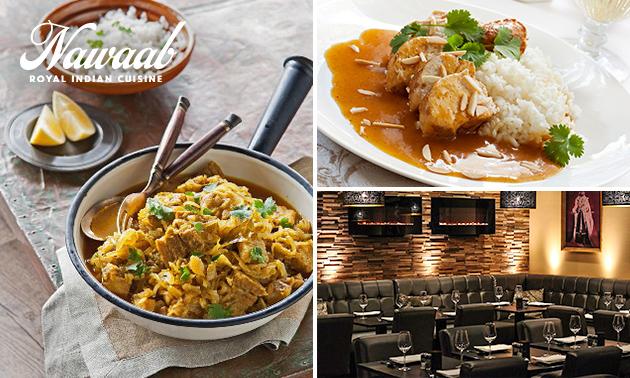 Afhalen: Indiase curry of 2-gangen keuzediner