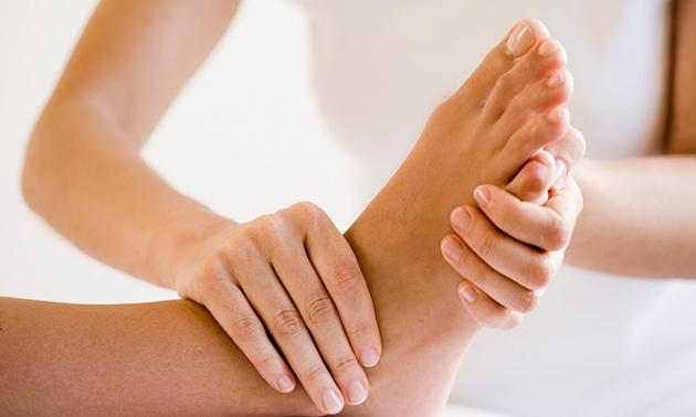 Voetreflextherapie-behandeling(en) (60 min)