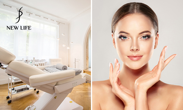 Soin visage anti-âge + analyse de peau