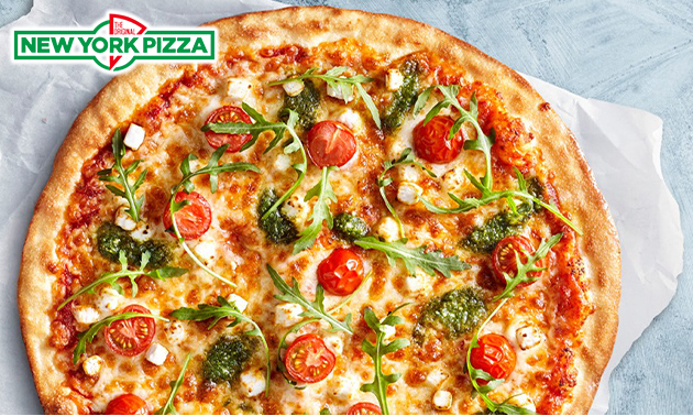 Afhalen: familypizza (40cm) bij New York Pizza