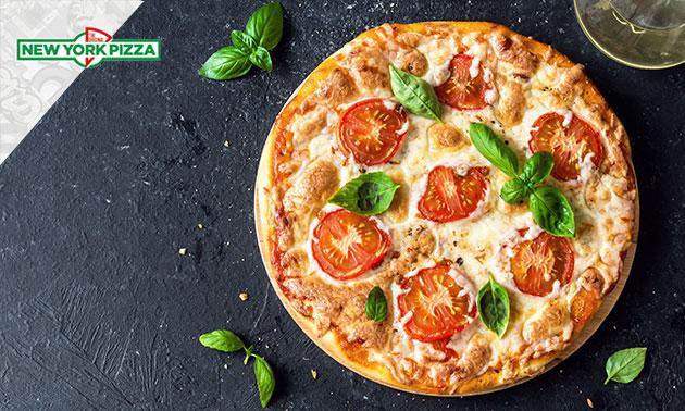 New York Pizza naar keuze + evt. drankje