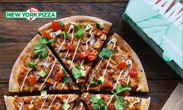 Thuisbezorgd of afhalen: pizza('s) bij New York Pizza