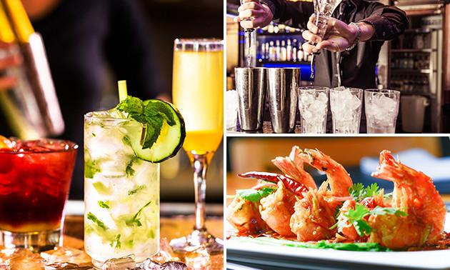 N joy bar lounge cocktail hapjes bespaar 62 in antwerpen via social deal - Feestelijke bar ...