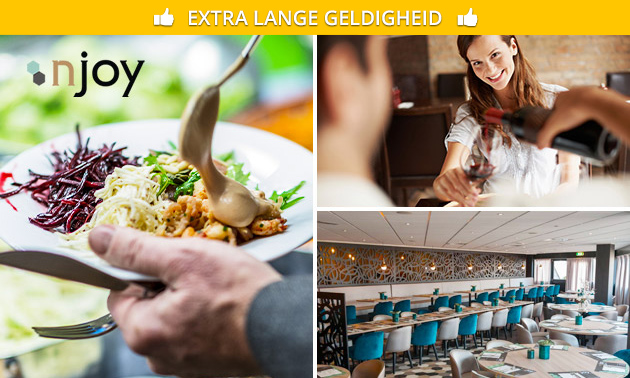 All-You-Can-Eat & Drink (2,5 uur) bij Njoy