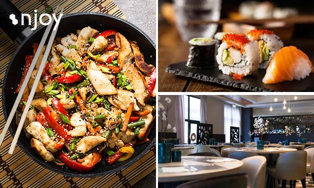 Afhalen: werelds diner voor 2 of 4 personen bij Njoy