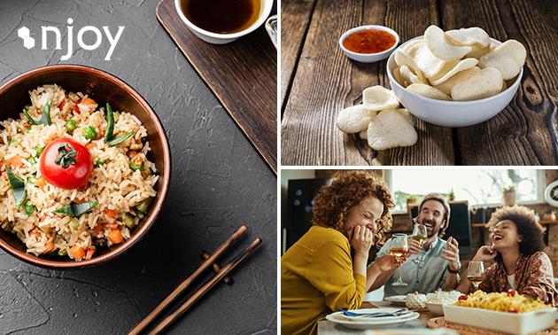 Afhalen: Aziatisch diner voor 2 tot 6 personen bij Njoy