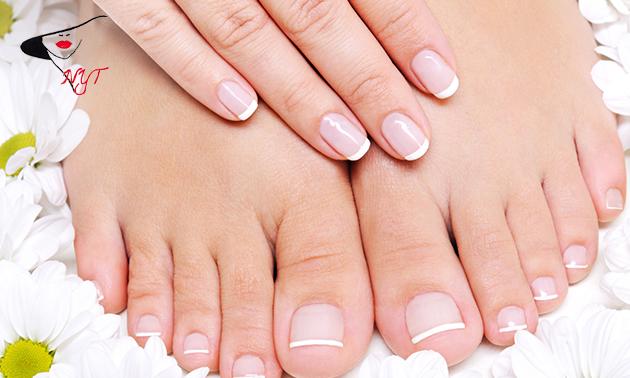 Manicure- en/of pedicurebehandeling