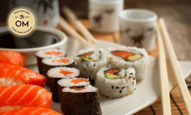 2-gangen sushidiner voor 2 bij OM Sushi Gent