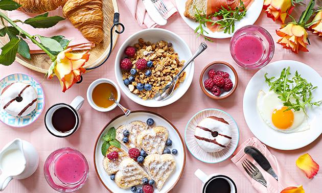 Afhalen: valentijnsontbijt naar keuze in hartje Brugge