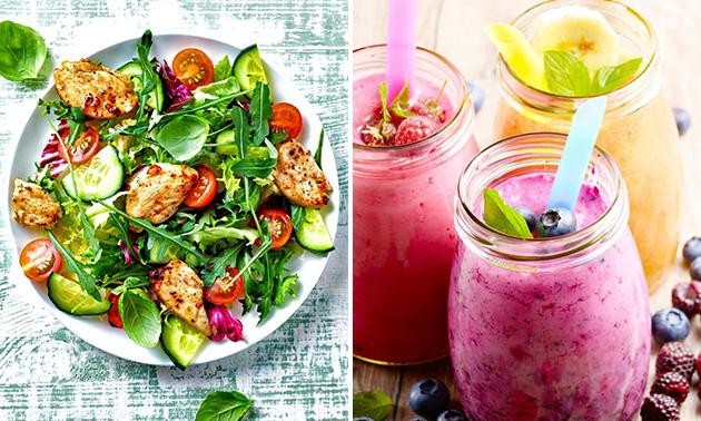 Afhalen: salade + drankje bij Ontbijt Eiland Brugge
