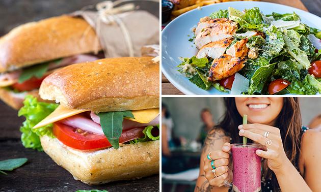 Afhalen: broodje + drankje bij Ontbijt Eiland Brugge