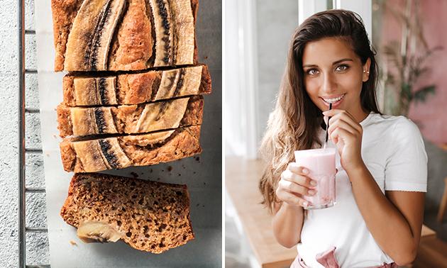 Afhalen: milkshake + bananenbrood in hartje Brugge