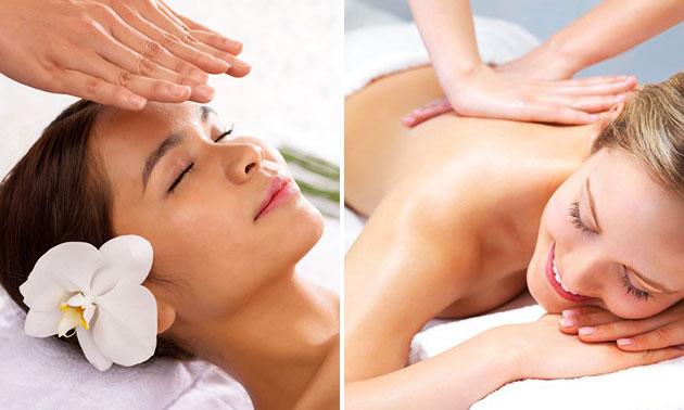 Massage (50 min) of dagcursus reiki/massage