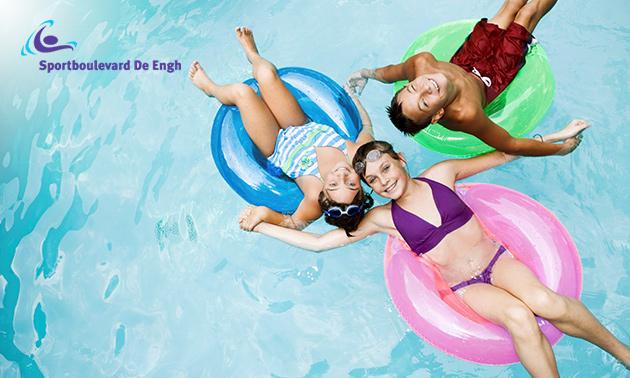 Entree zwembad Sportboulevard de Engh