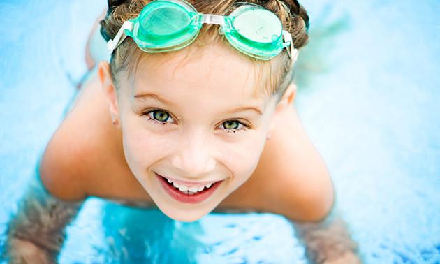 Entree subtropisch zwembad