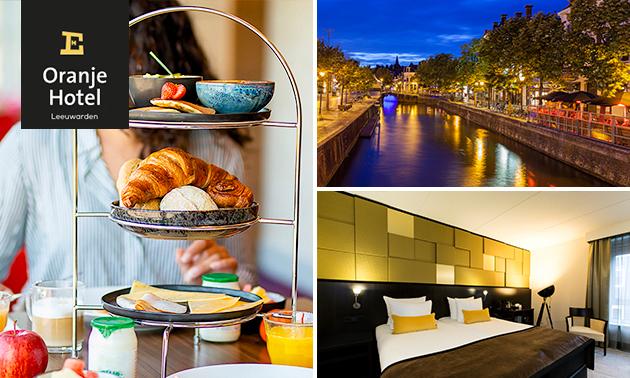 Nuit + petit-déjeuner pour 2 au coeur de Leeuwarden