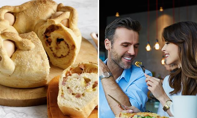 Afhalen: Italiaanse paasbrunch voor 2 + evt. prosecco