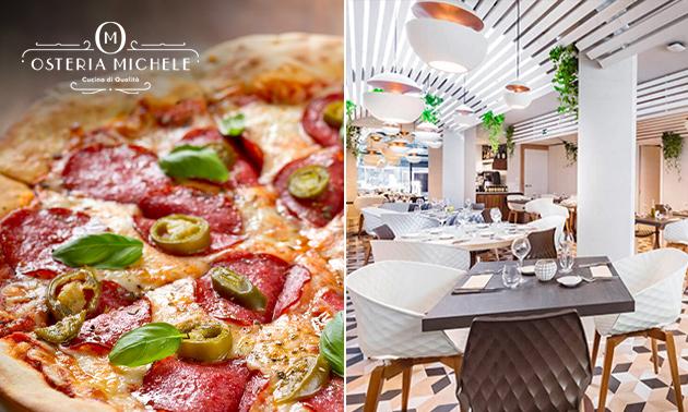 Afhalen: pizza naar keuze bij Osteria Michele