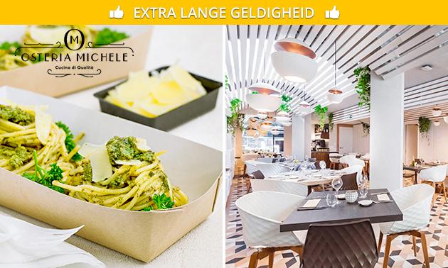 Afhalen: pasta naar keuze bij Osteria Michele