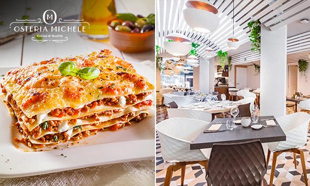 Lasagne naar keuze bij Osteria Michele